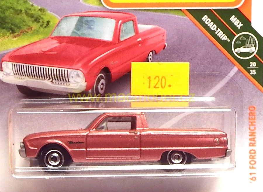 1:59 Ford Ranchero 1961 - Matchbox