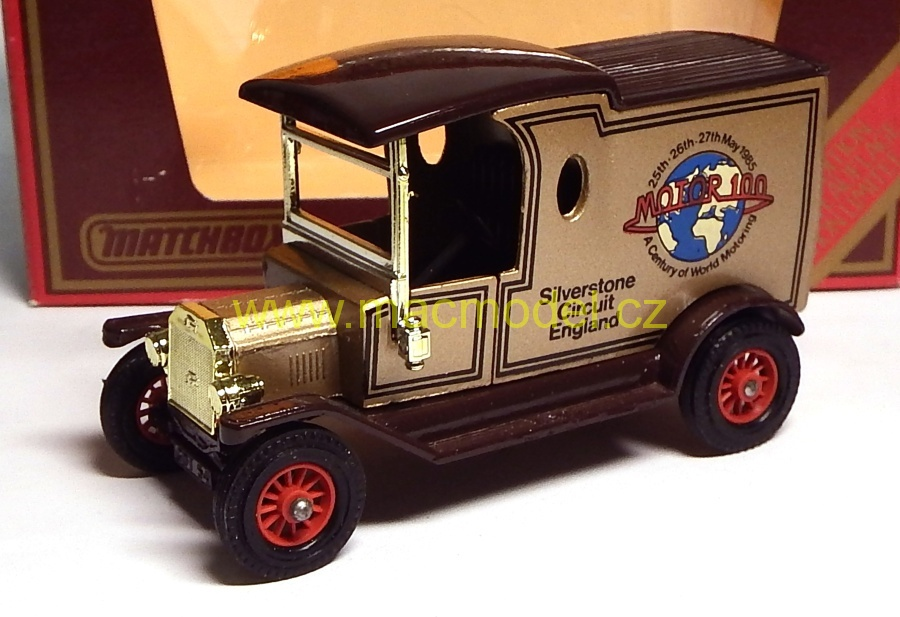 1:43 Ford T 1912 Motor 100 - Matchbox