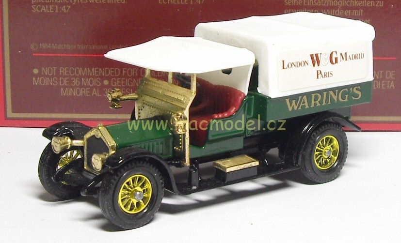 1:43 Crossley 1918 Waring´s - Matchbox