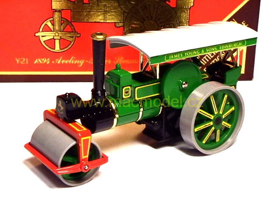 1:50 Aveling-Porter 1894 Steam roller J.Young & Sons, limitovaná edice - Matchbox