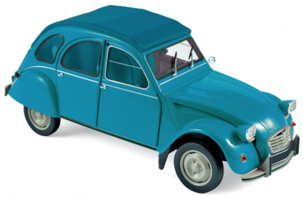 1:18 Citroen 2 CV 6 Club 1982 laguna blue - Norev