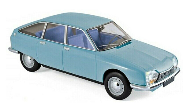1:18 Citroen GS Club 1972 modrý - Norev
