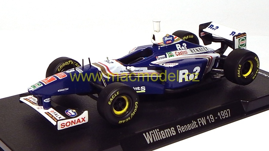 1:43 Williams 1997 FW 19 Renault # 3  - RBA F1