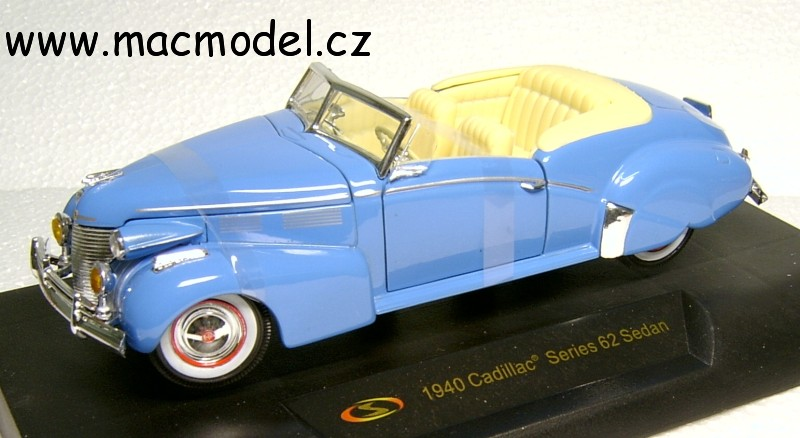 1:32 Cadillac 1940 Series 62 convertible - Signature