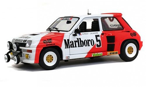 1:18 Renault 5 Turbo 1982 Rally du var # 5 A.Prost - Solido