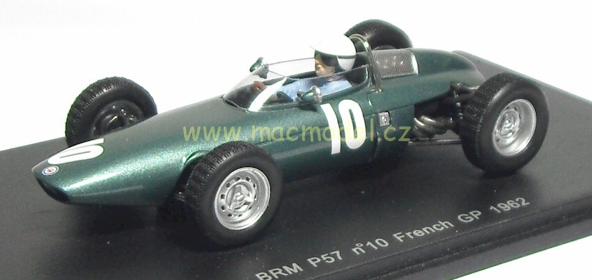 1:43 BRM P57 GP France # 10 Richie Ginther - Spark