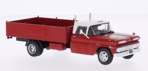 1:43 Chevrolet C 30 valník - White Box