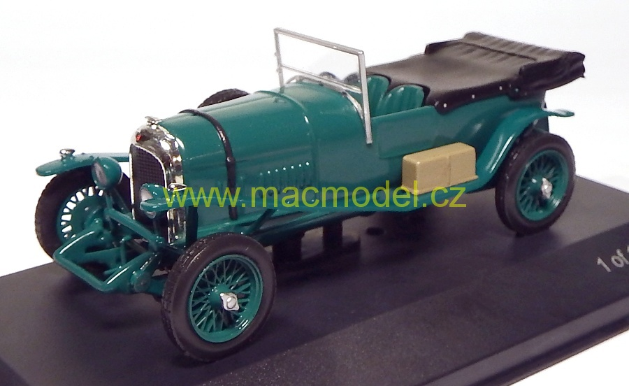 1:43 Bentley 3,0 lt 1924 zelený - White Box