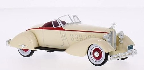 1:43 Packard V12 LeBaron Speedster 1934 (wb178 ) - White Box