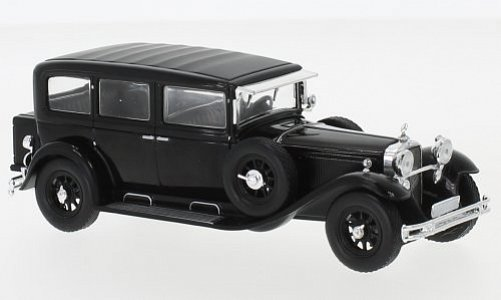 1:43 Mercedes-Benz 460 Nürburg (W08) černý - White Box