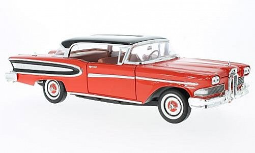 1:18 Edsel Citation hard top červeno-černý - White Box