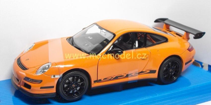 1:24 Porsche 911 (997) GT3 RS oranžový - Welly