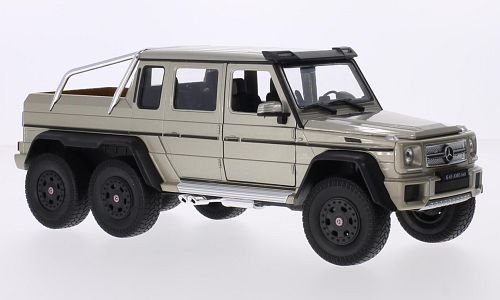 1:24 Mercedes-Benz G63 AMG 6x6 zlatý - Welly