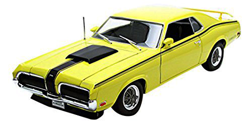 1:18 Mercury Cougar 1970 Eliminator 1970 žlutý - Welly