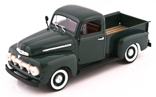 1:18 Ford F100 pick-up 1951 zelený - Welly