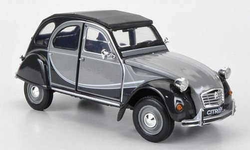 1:24 Citroen 2 CV 6 Charleston šedo-šedý - Welly