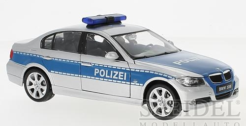 1:24 BMW 330i Polizei - Welly