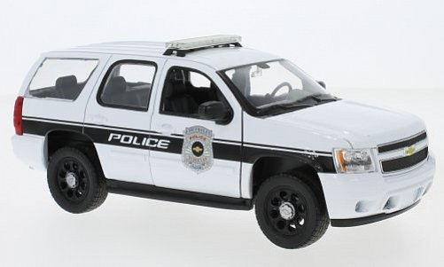 1:24 Chevrolet Tahoe 2008 Police - Welly