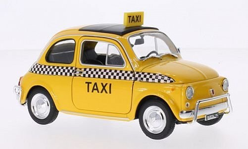 1:24 Fiat 500 L Taxi New York - Welly