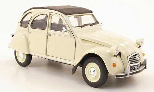 1:24 Citroen 2 CV 6 1975 béžový - Welly