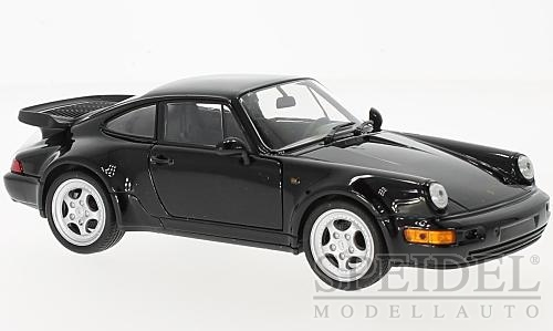 1:24 Porsche 912 (964) Turbo coupé černý - Welly