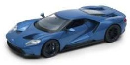1:24 Ford GT 2017 modrý - Welly