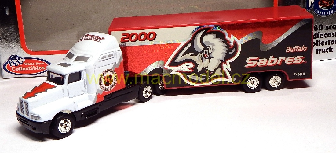 1:64 Kenworth NHL 2000 Buffalo Sabres - White Rose