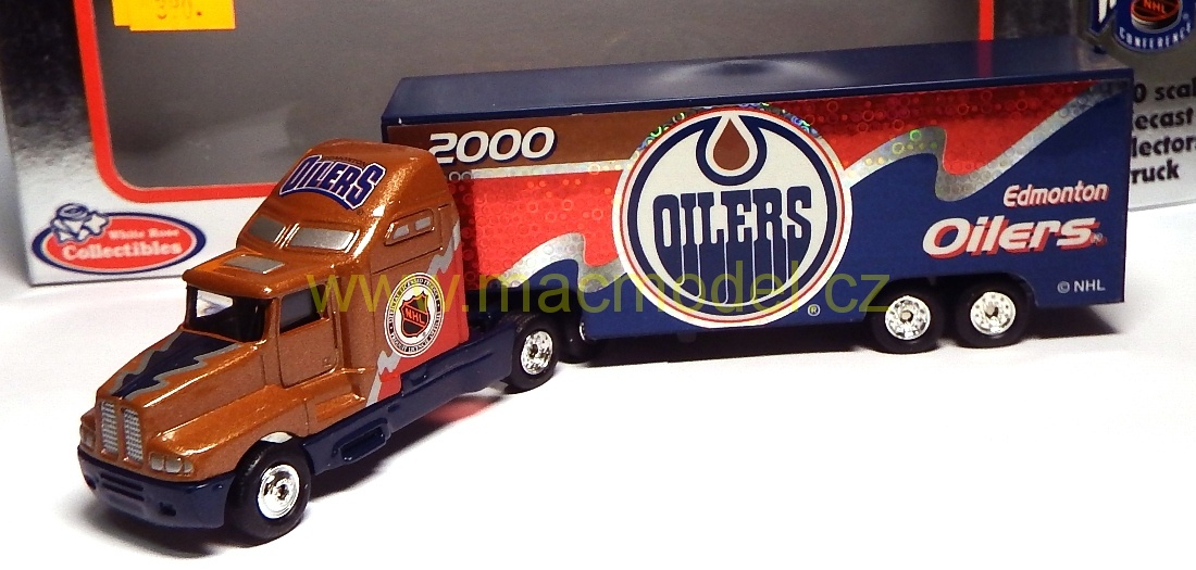 1:64 Kenworth NHL 2000 Edmonton Oilers - White Rose