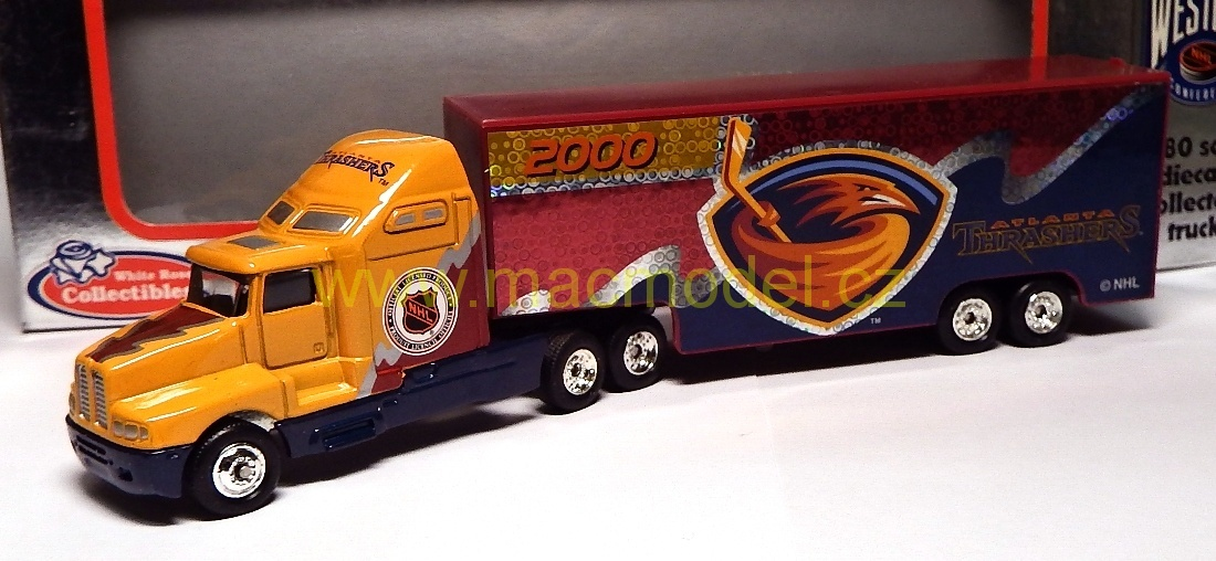 1:64 Kenworth NHL 2000 Atlanta Thrashers - White Rose