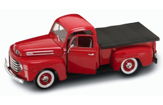 1:18 Ford F-1 1948 pick-up červený - Yatming