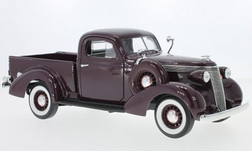 1:18 Studebaker Champion 1937 Coupé Express pick-up tm.červený - YatMing