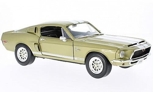 1:18 Ford Mustang Shleby GT 500 KR 1968 zlatý - YatMing