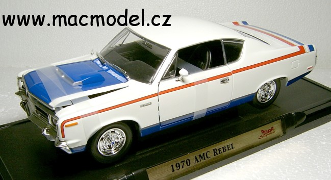 "1:18 AMC Rebel 1970 ""The Machine"" - YatMing"