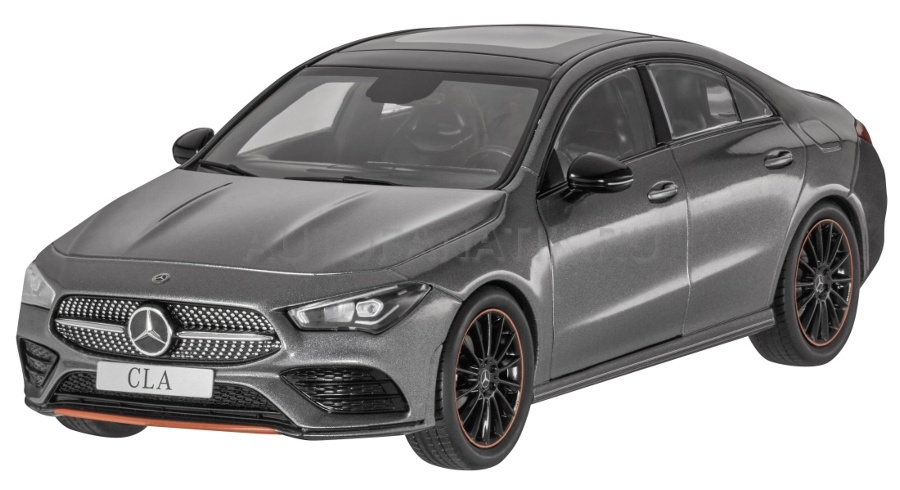 1:18 Mercedes-Benz CLA (C118) 2019 mountain grey - Z Models