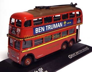 1:76 3 Axle QI Trolleybus - Atlas