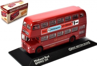 1:76 Bmmo D9 Midland Red - Atlas