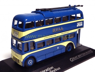 1:76 Wevmann Hull Transportation Trolleybus - Atlas