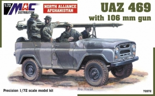 1:72 UAZ 469 + 106mm - MAC.distribution