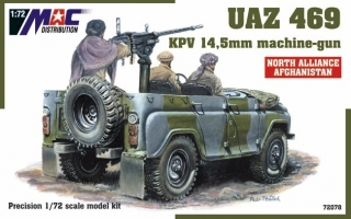 1:72 UAZ 469 + 14,5 cm - MAC.distribution