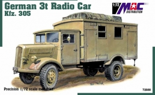 1:72 Opel 3t Kfz 305 Radio - MAC.distribution