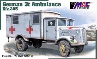 1:72 Opel 3t ambulance - MAC.distribution